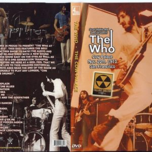 The Who 1973-11-20 Cow Palace, San Francisco, CA DVD