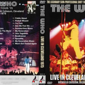 The Who 1975-12-09 Richfield Coliseum, Cleveland, OH DVD