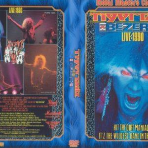 Tigertailz 1990 Bezerk Live, Cariff, Wales DVD