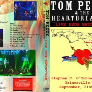 Tom Petty 2006-09-21 Live from Gatorville, FL 2 DVD