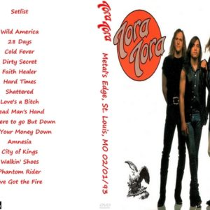 Tora Tora 1993-02-01 Metal's Edge, St. Louis, MO DVD