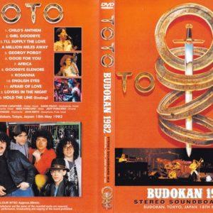 Toto 1982-05-18 Budokan, Tokyo, Japan DVD