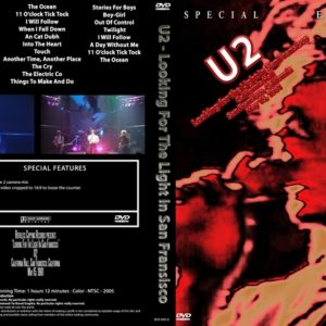 U2 1981-05-15 Looking For The Light In San Fransisco, CA DVD