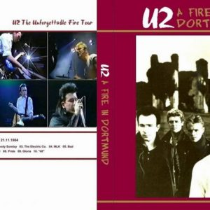 U2 1984-11-21 Dortmund, Germany DVD
