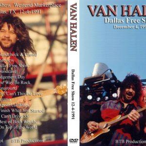 Van Halen 1991-12-04 Dallas, TX DVD