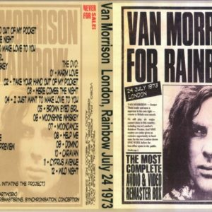 Van Morrison 1973-07-24 Rainbow, London, UK DVD