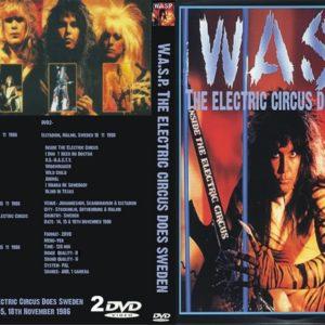 WASP 1986-11-14 Stockholm, Sweden & 1986-11-15 Gothenburg, Sweden DVD