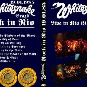 Whitesnake 1985-01-19 Rio, Brazil DVD