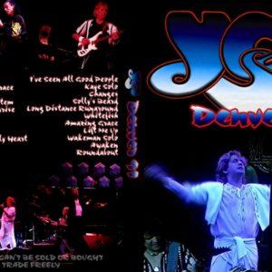 Yes 1991-05-09 UNION, Denver, CO DVD