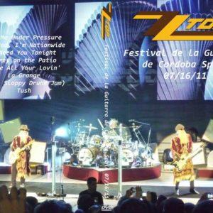 ZZ Top 2011-07-16 Festival de la Guitarra de Cordoba Spain DVD
