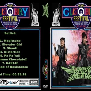 BABYMETAL 2019 Glastonbury DVD