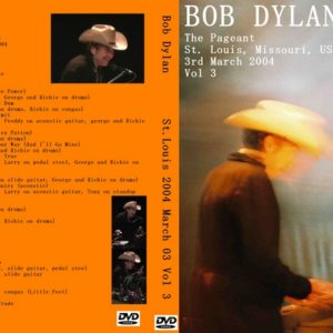 Bob Dylan 2004-03-03 St. Louis, MI DVD