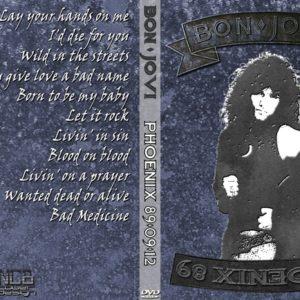 Bon Jovi 1989-09-12 Phoenix, AZ 2 DVD