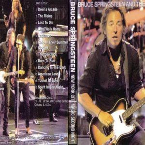 Bruce Springsteen 2007-10-18 Night 2, New York City, NY 2 DVD
