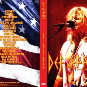 Def Leppard 2008-08-17 Omaha, NE DVD