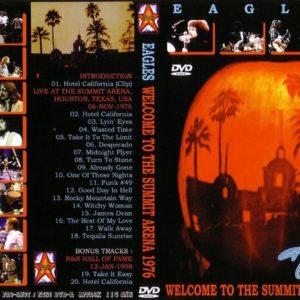 Eagles 1976-11-06 Summit Arena, Houston, TX DVD