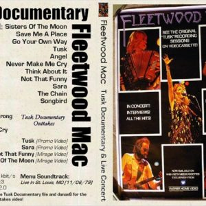 Fleetwood Mac 1979-11-06 St. Louis, MO + Doumentary DVD