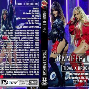Jennifer Lopez 2017 TIDAL Brooklyn, NY DVD