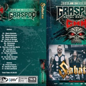 Sabaton 2019-06-23 Graspop DVD