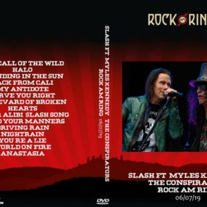 Slash ft. Myles Kennedy & the Conspirators 2019-06-07 Rock Am Ring DVD