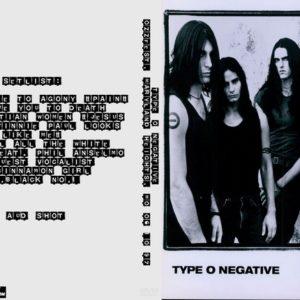 Type O Negative 1997-06-10 Ozzfest, Maryland Heights, MO DVD