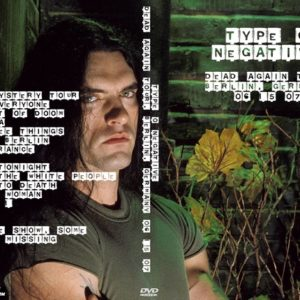 Type O Negative 2007-06-15 Dead Again Tour, Columbiahalle, Berlin, Germany DVD