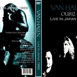 Van Halen 1989 Tokyo, Japan DVD