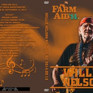 Willie Nelson 2014-09-13 Farm Aid, Raleigh, NC DVD