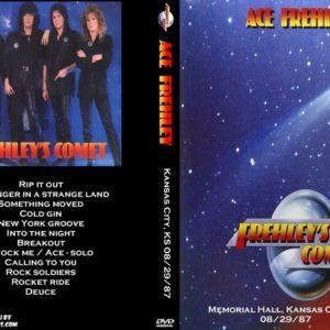 Ace Frehley 1987-08-29 Memorial Hall, Kansas City, KS DVD