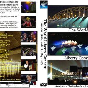 Alan Parsons 1995-08-05 World Liberty Concert, Arnhem, Holland DVD