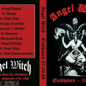 Angel Witch 1986-09-07 Dynamo Open Air, Eindhoven, The Netherlands DVD