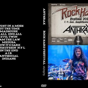 Anthrax 2019-06-09 Rock Hard Festival, Germany DVD