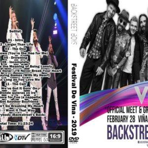 Backstreet Boys 2019-02-28 Vina del Mar, Chile DVD