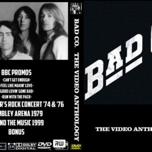 Bad Company The Video Anthology DVD