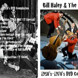 Bill Haley and The Comets 1950-1970 Compilation DVD