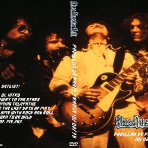 Blue Oyster Cult 1975-10-03 Pavillon de Paris, France DVD