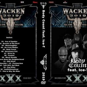 Body Count 2019-08-02 Wacken, Germany DVD