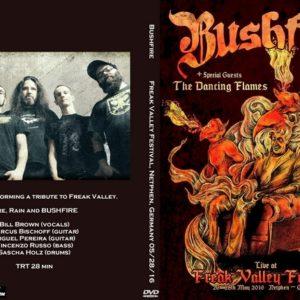 Bushfire 2016-05-28 Freak Valley Festival, Netphen, Germany DVD