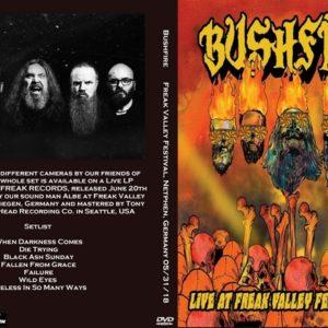 Bushfire 2018-05-31 Freak Valley Festival, Netphen, Germany DVD