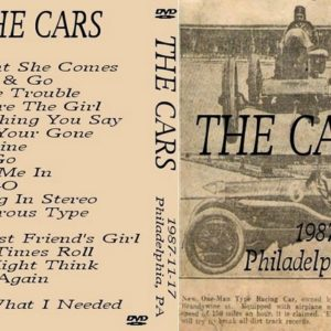 Cars 1987-11-17 Philadelpha, PA DVD