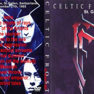 Celtic Frost 1985-12-27 St. Gallen, Switzerland DVD