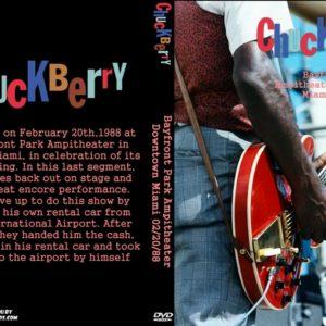 Chuck Berry 1988-02-20 Bayfront Park, Miami. FL DVD