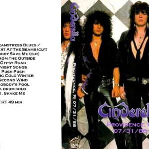Cinderella 1988-07-31 Providence, RI DVD