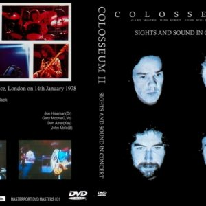 Colosseum II 1978-01-14 Sight And Sound, London, UK DVD