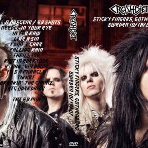 Crashdiet 2007-10-19 Sticky Fingers, Gothenburg, Sweden DVD