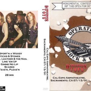 Dangerous Toys 1991-07-13 Cal Expo Amphitheatre, Sacramento, CA DVD