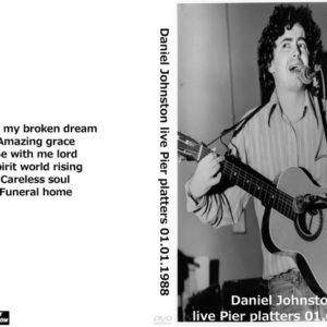 Daniel Johnston 1988-01-01 Pier Platters, Hoboken, NJ DVD