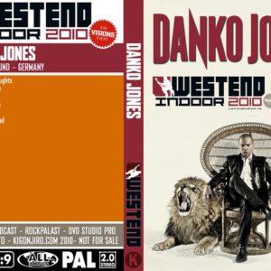 Danko Jones 2010-10-30 Westend Indoor Festival, Dortmund, Germany DVD