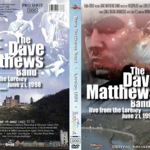 Dave Matthews Band 1998-06-21 Loreley, Germany DVD
