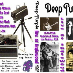 Deep Purple 1968-10-18 Forum, Los Angeles, CA DVD